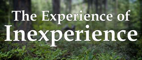The Experience of Inexperience