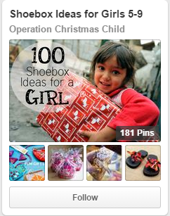 Operation Christmas Child on Pinterest